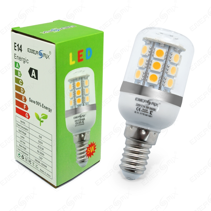 e14 led 48 smd lampe 5w 220v warmwei 3 95. Black Bedroom Furniture Sets. Home Design Ideas