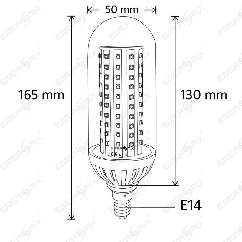 e14 138 smd led lampe kaltwei 8 w 12 95. Black Bedroom Furniture Sets. Home Design Ideas