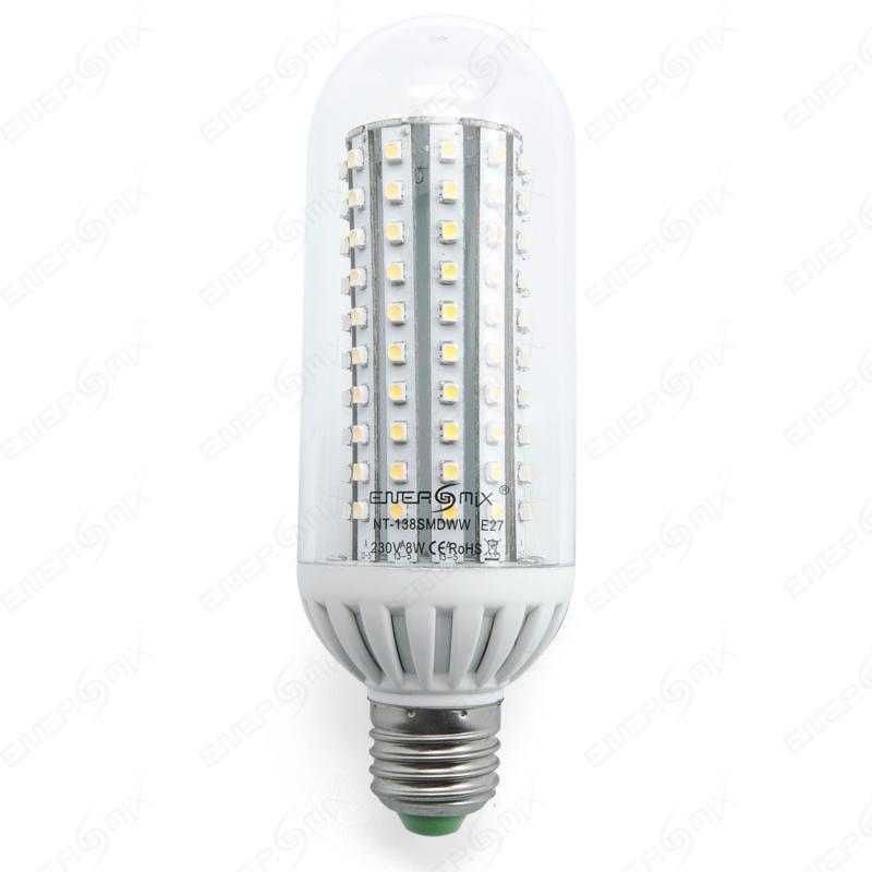 E-27 LED Energiesparlampe Led Birne Leuchtmittel - mit 138 5050 SMD ...