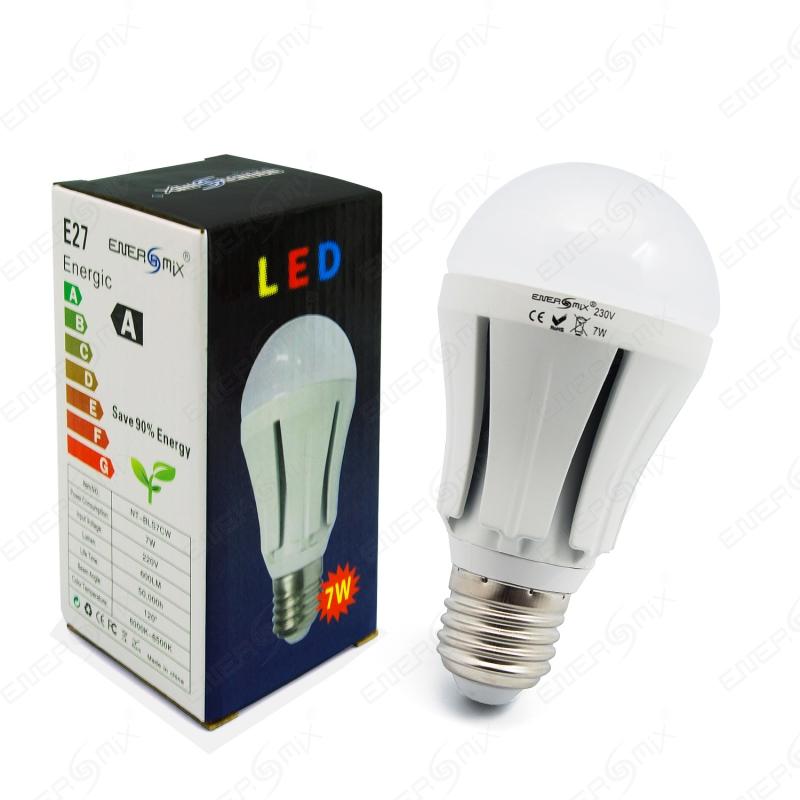 E27 LED Lampe Birne-LED Bulb Light Kaltweiß 230V 7W Samsung Chip, 3,45 €