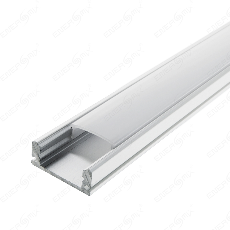 led schiene aluminium deckenanbringung profil a milchig tr b opal 5 75. Black Bedroom Furniture Sets. Home Design Ideas