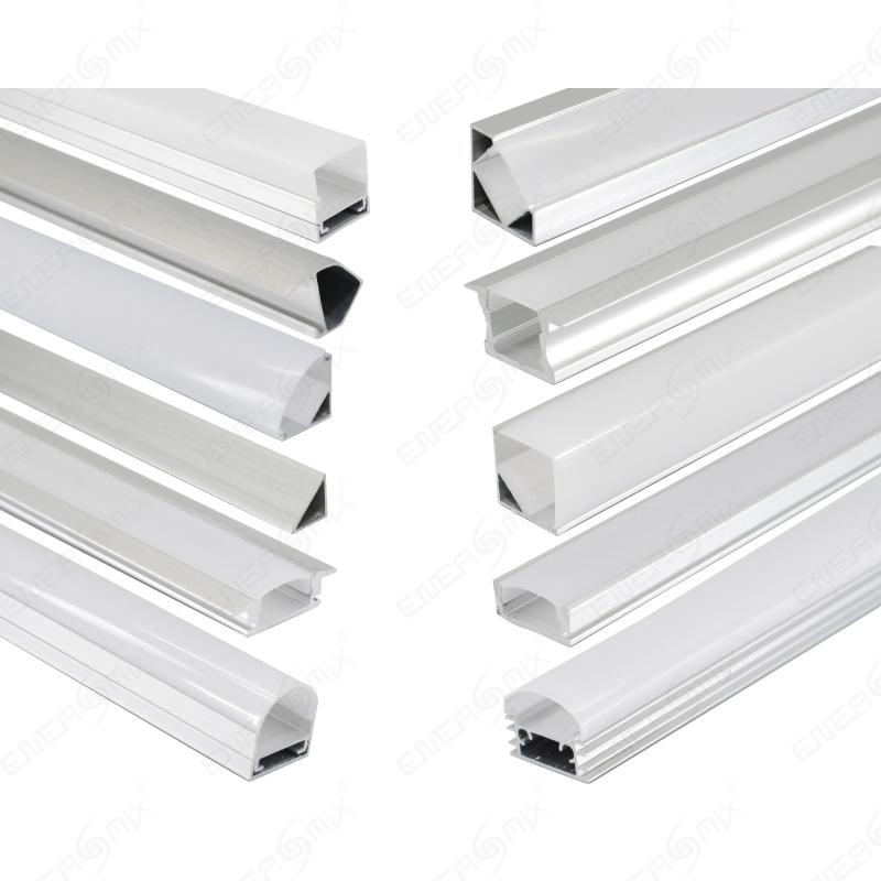 led schiene aluminium deckenanbringung 3 75. Black Bedroom Furniture Sets. Home Design Ideas