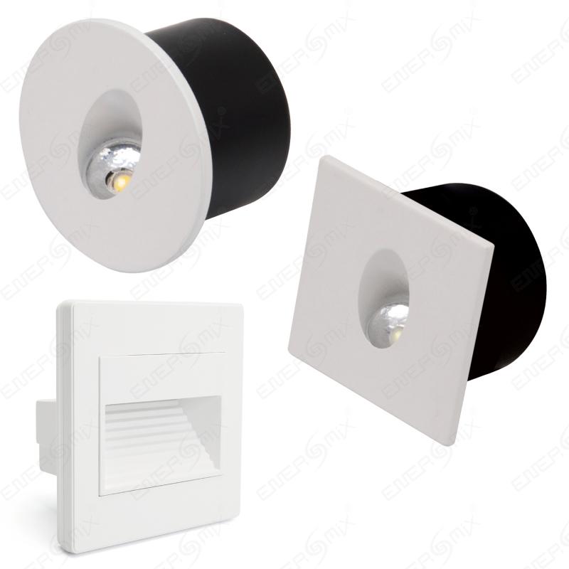 led deckenleuchte inklusive led leuchtmittel rund 12w mit rahmen kaltwei 9 95. Black Bedroom Furniture Sets. Home Design Ideas