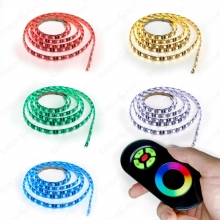 LED RGB Strip Streifen Set - 60 LED pro Meter mit Touch...