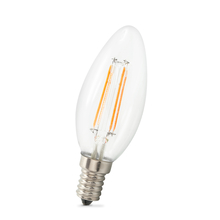E14 LED Leuchtmittel Candle Filament 4w Warmweiß