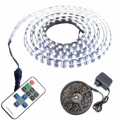 LED Strip SMD 5050 einfarbig 60 LED pro Meter