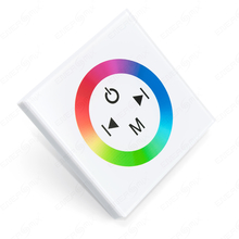 LED RGB Touch-Panel-Controller -Dimmer Weiß