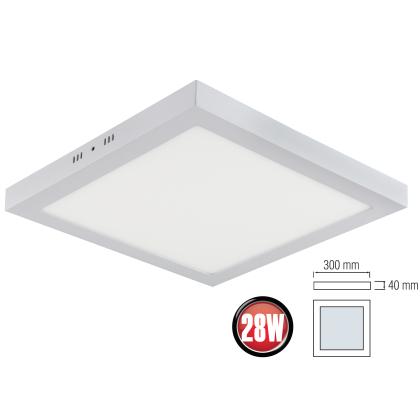 6er Set LED Panel Aufputzlampe Deckenlampe Neutralweiß Leuchte Wandleuchte 12W