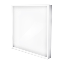 Aufputz LED Panel Quadrat 50 Watt-Eckig 600x600mm Warmweiss