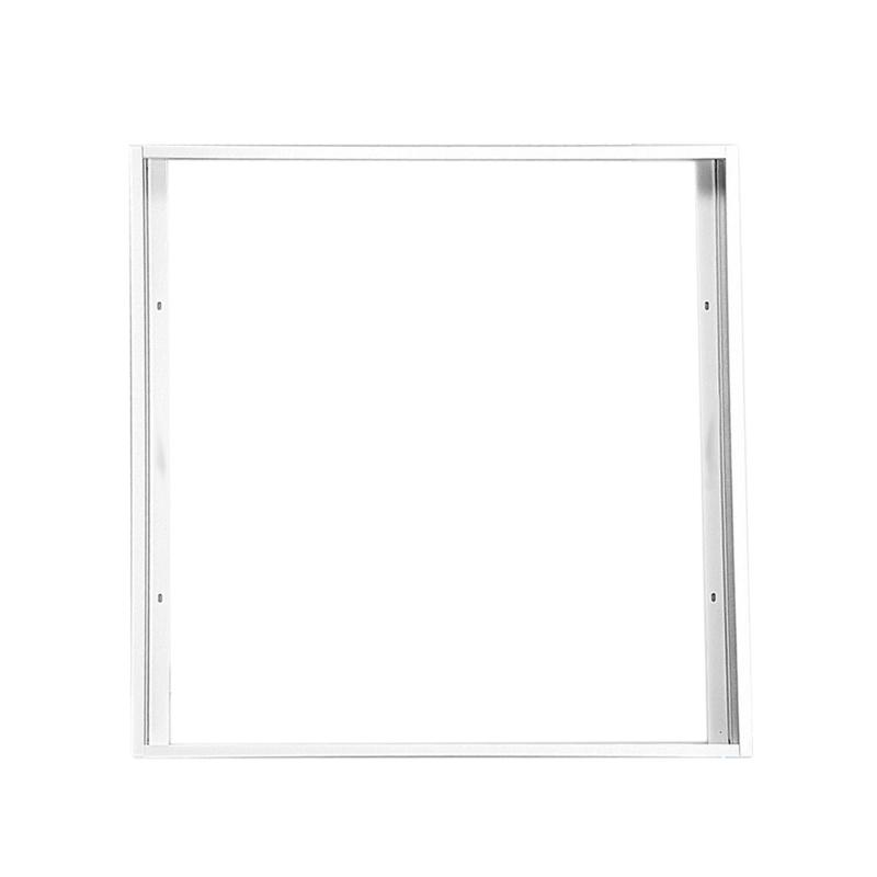 silber zur Aufputzmontage von LED-Panels an Decke oder Wand proventa/® Einbaurahmen f/ür LED-Panel 62 x 62 cm 50 mm H/öhe Aluminium