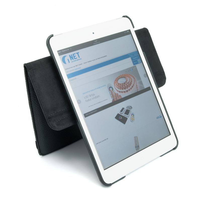 leder tasche apple ipad mini etui hard smart cover case. Black Bedroom Furniture Sets. Home Design Ideas