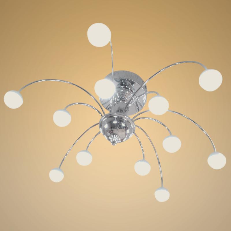 Deckenlampen led kronleuchter gestell chromfarben 59 95 for Led wohnzimmer deckenlampen