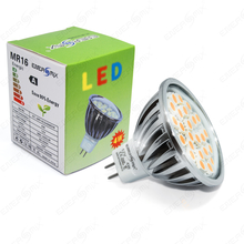1x MR16 LED SMD Lampe 4W Warmweiß