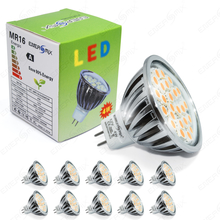 10x MR16 LED SMD Lampe 4W Warmweiß