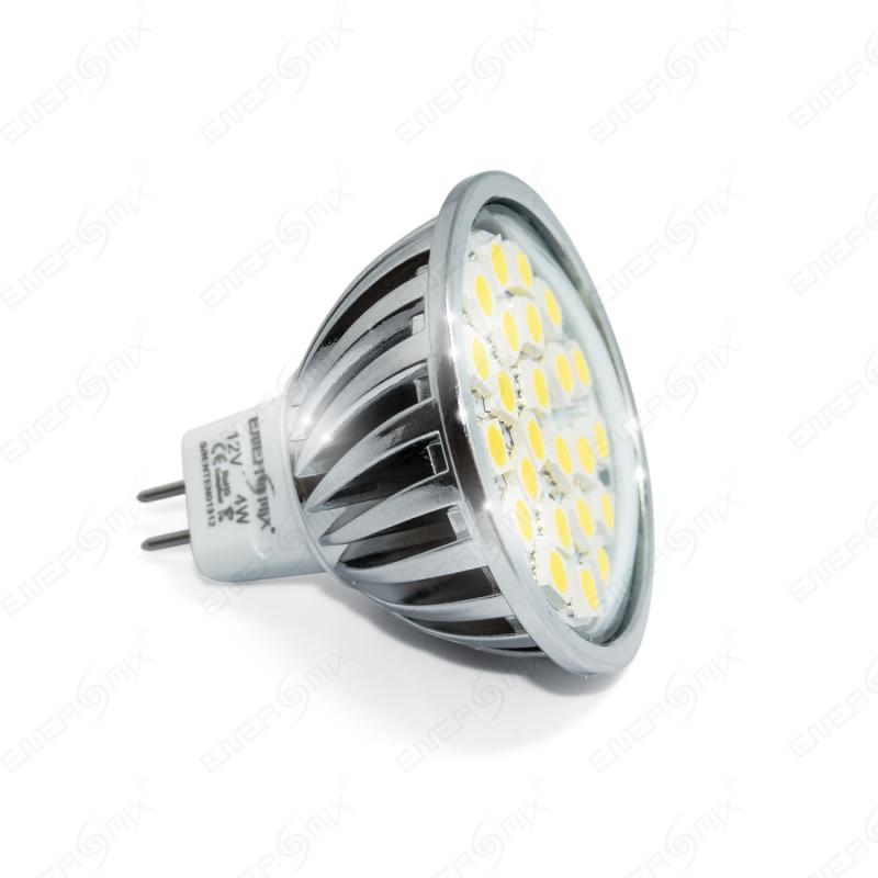 4x MR16 LED SMD Lampe 4W Kaltweiß, 17,95