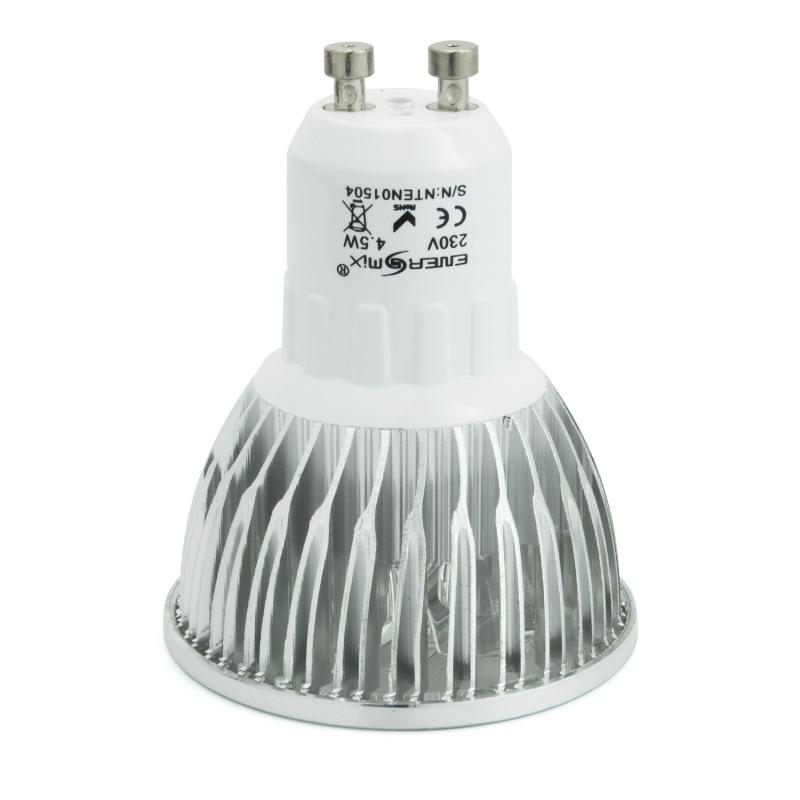 gu10 led spot lampe led strahler licht energiespar lampe 4 5 watt 10 39 95. Black Bedroom Furniture Sets. Home Design Ideas