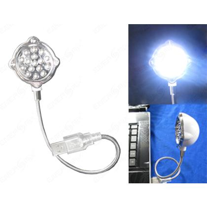 Usb Lampe Mit 16 Led Flexibler Schwanenhals Fur Notebook Laptop